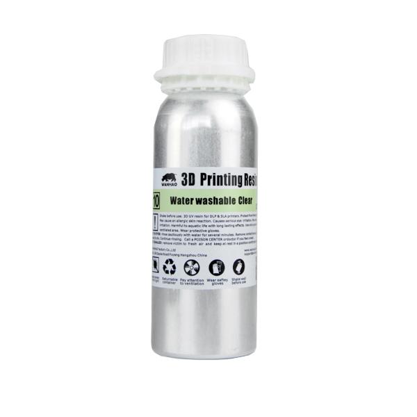قیمت                      رزین پرینتر سه بعدی وانهاو مدل  DLP/SLA شفاف حجم 0.25 لیتر