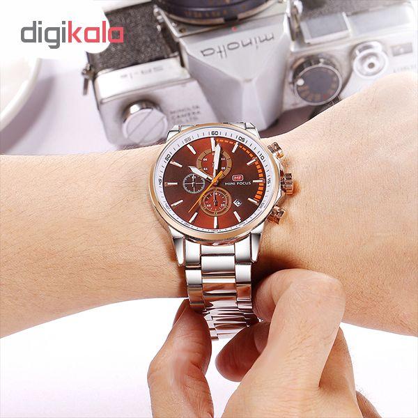 ساعت مردانه برند مینی فوکوس مدل mf0085g.01