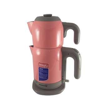 تصویر چای ساز کرکماز مدل Demtez کد 369 Korkmaz 369 Tea Maker