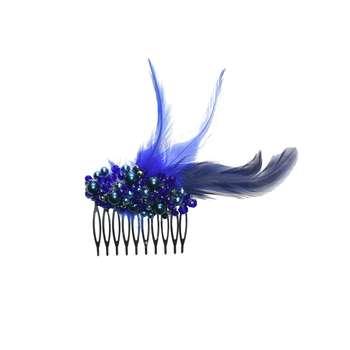 شانه سر مدل shoulder-fin blue |