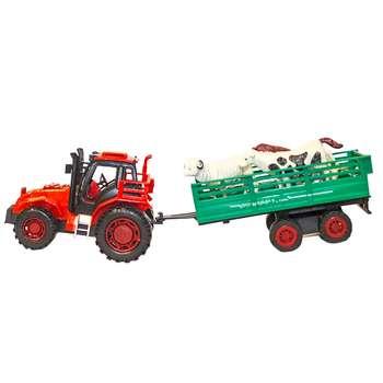 ماشین بازی مدل تراکتور مزرعه کد A1
