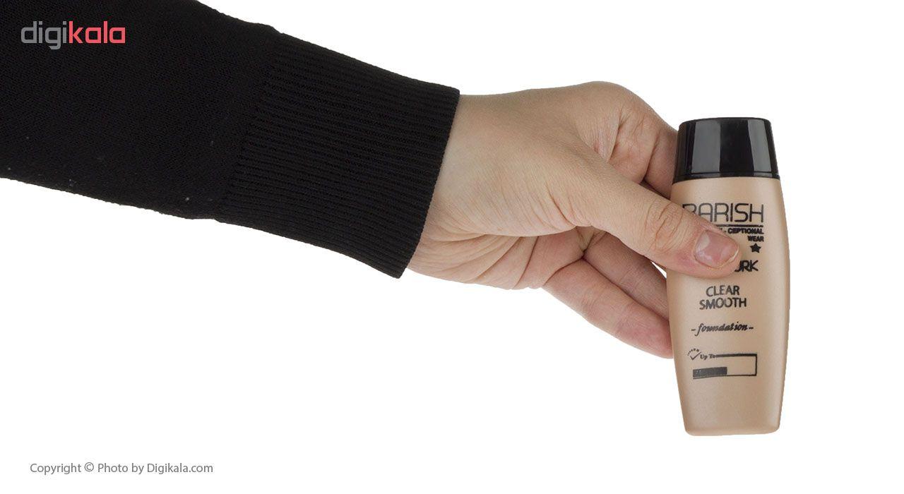 کرم پودر باریش مدل Clear smooth شماره 208 حجم 35 میلی لیتر