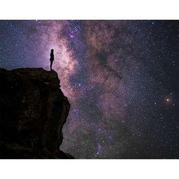 تابلو شاسی سری زیباترین عکس های جهان طرح آسمان شب کد 239