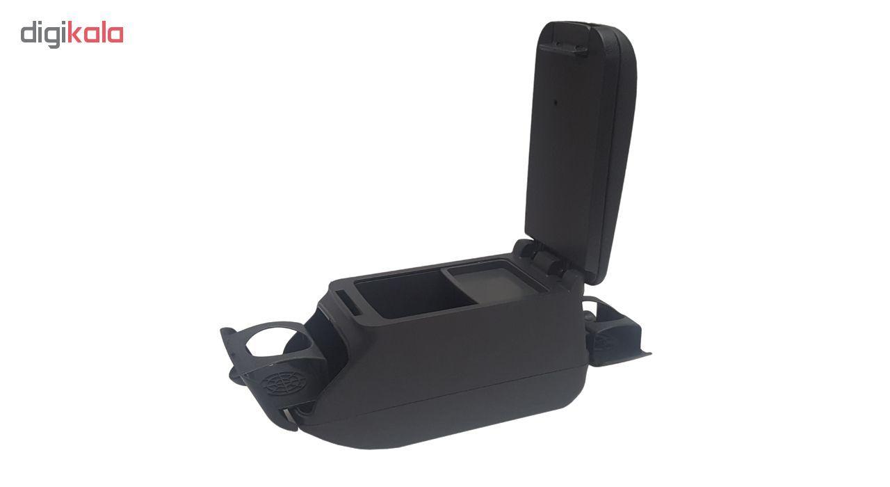 کنسول وسط خودرو ام پی کد Black-03 مناسب پراید ، تیبا main 1 2