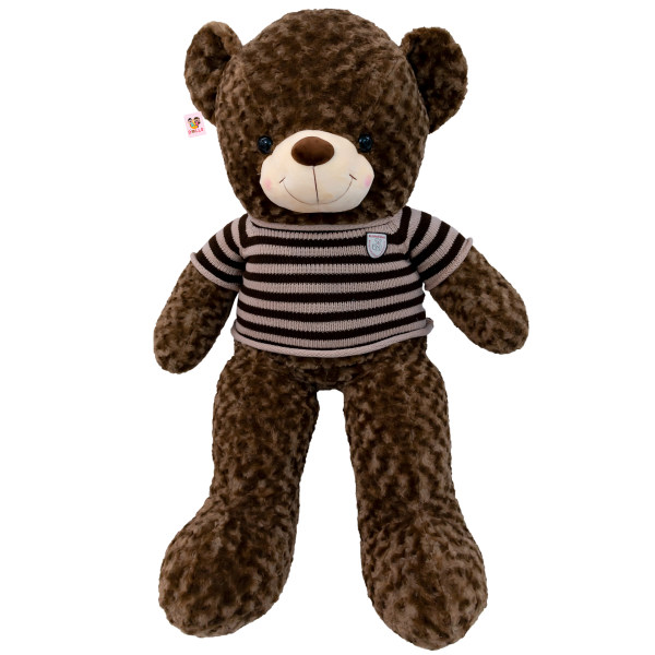 عروسک خرس بی جی دالز مدل Bears Sweater ارتفاع 115 سانتی متر