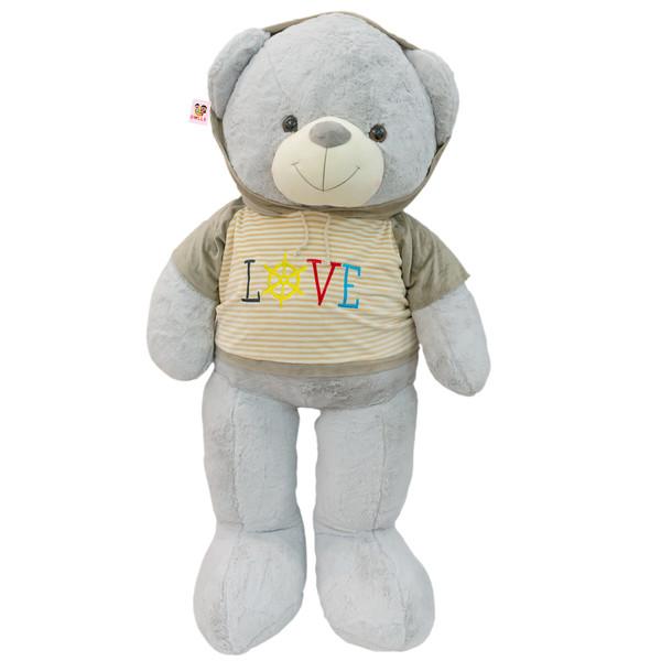 عروسک خرس بی جی دالز مدل Hoodie Dress ارتفاع 125 سانتی متر
