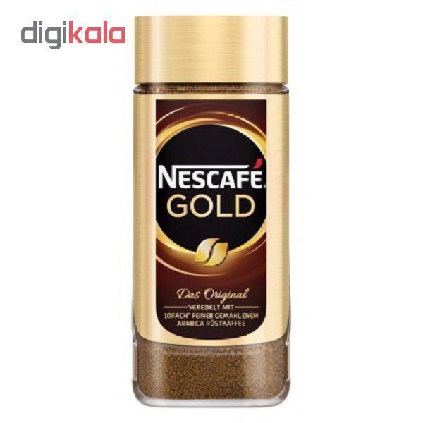 قهوه فوری نسکافه گلد مقدار 200 گرم اورجینال main 1 1