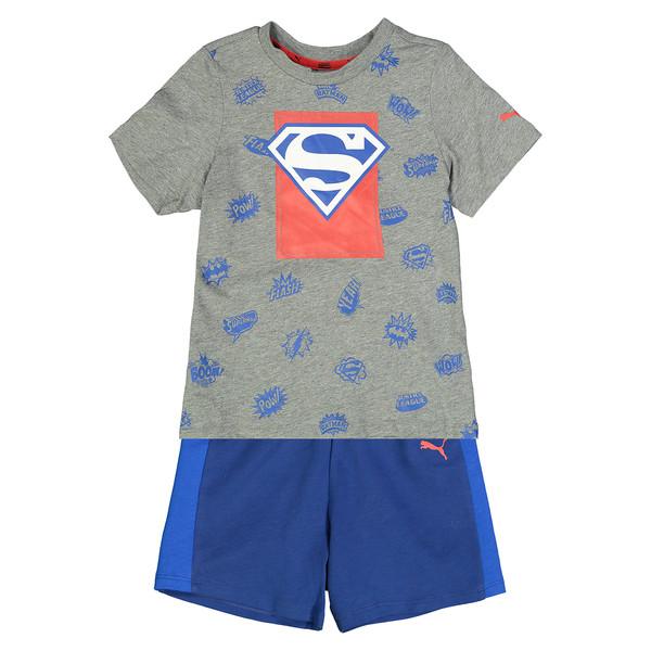 ست تی شرت و شلوارک پسرانه پوما مدل 850273-034