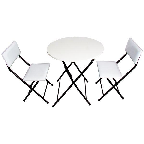 میز و صندلی ناهارخوری 2 نفره میزیمو کد 56030