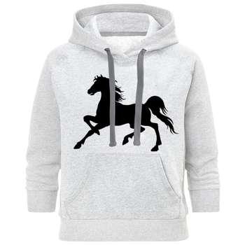هودی مردانه طرح اسب کد C160