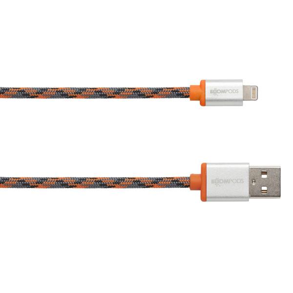 کابل تبدیل USB به لایتنینگ بوم پادز مدل Retro طول 1 متر