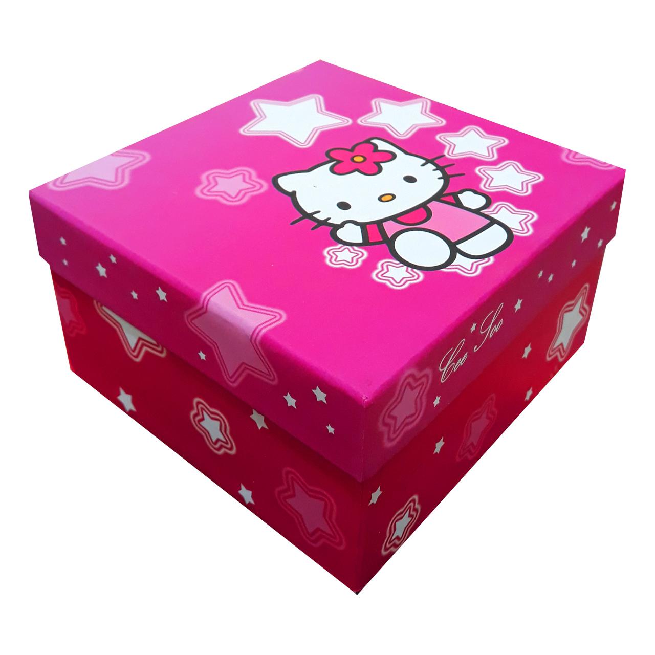 عکس جعبه هدیه طرح کیتی کد M090