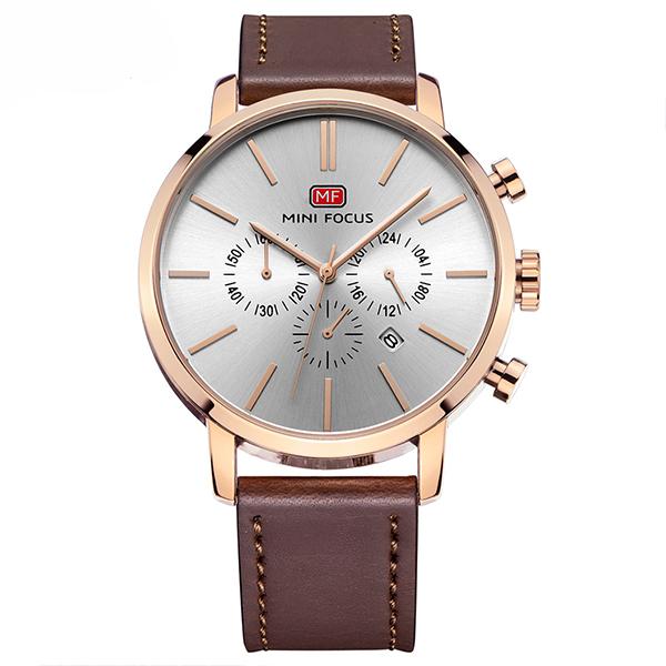 ساعت مچی عقربه ای مردانه مینی فوکوس مدل mf0023g.03