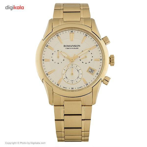 ساعت مچی عقربه ای زنانه رومانسون مدل TM5A21HLGGASR5