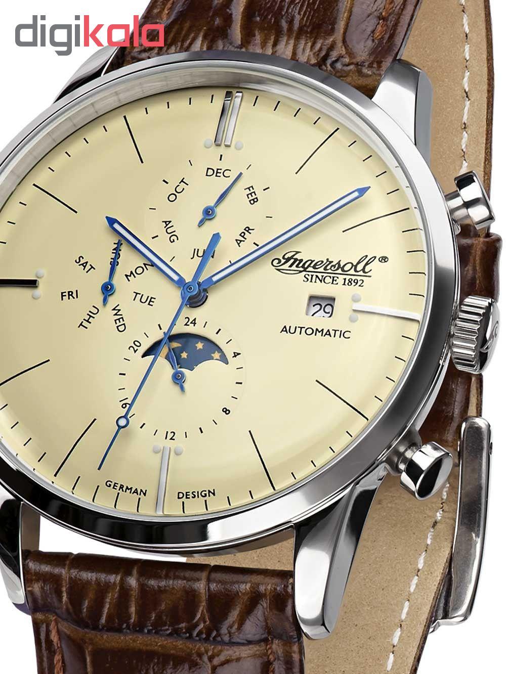 ساعت مچی عقربه ای مردانه اینگرسل مدل IN1916SCR