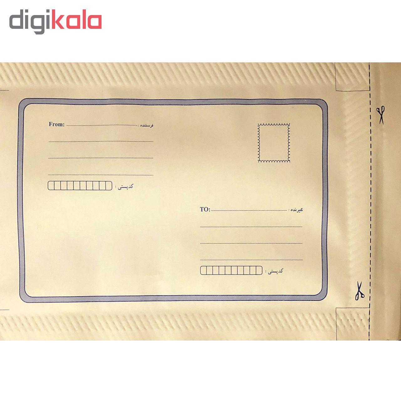 پاکت نامه پستی مدل حبابدار بسته 10 عددی main 1 1