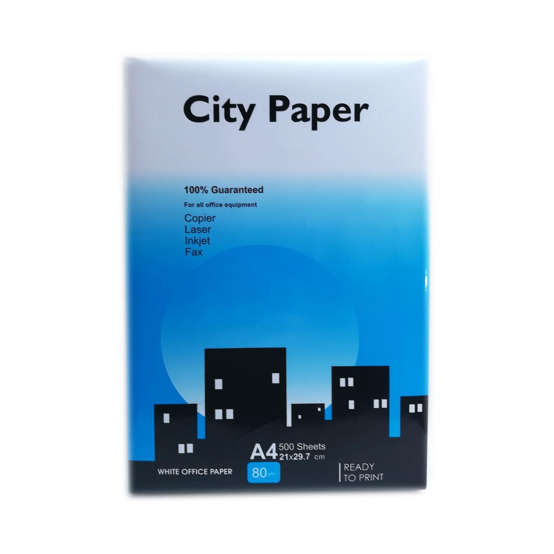 کاغذ سیتی پیپر سایز A4 کد 1500 بسته 500 برگی