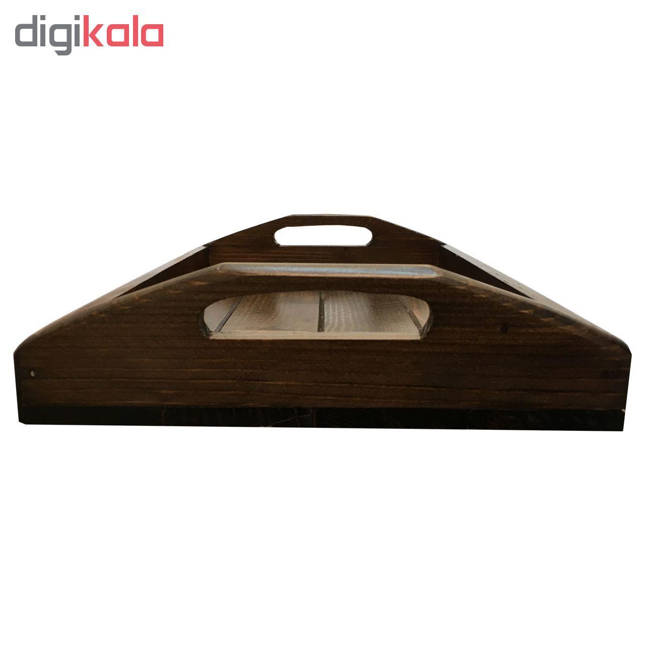 سینی  چوبی آرونی مدل پوپک main 1 3