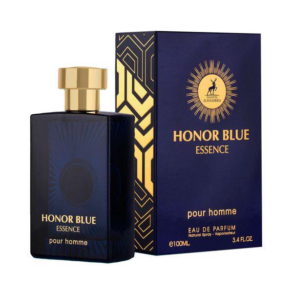 ادو پرفیوم مردانه الحمبرا مدل Honor Blue Essence حجم 100 میلی لیتر