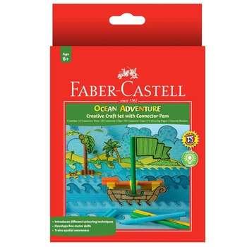 ماژیک رنگ آمیزی 12 رنگ فابر کاستل مدل Ocean Adventure