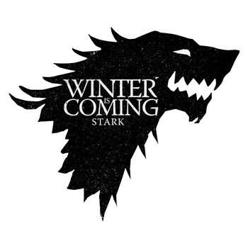 استیکر لپ تاپ گراسیپا طرح Winter-Black