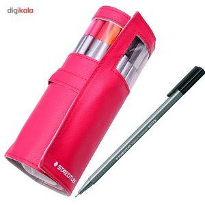روان نویس 20 رنگ استدلر مدل Triplus Fineliner  Staedtler Triplus Fineliner 20 Color Rollerball Pen