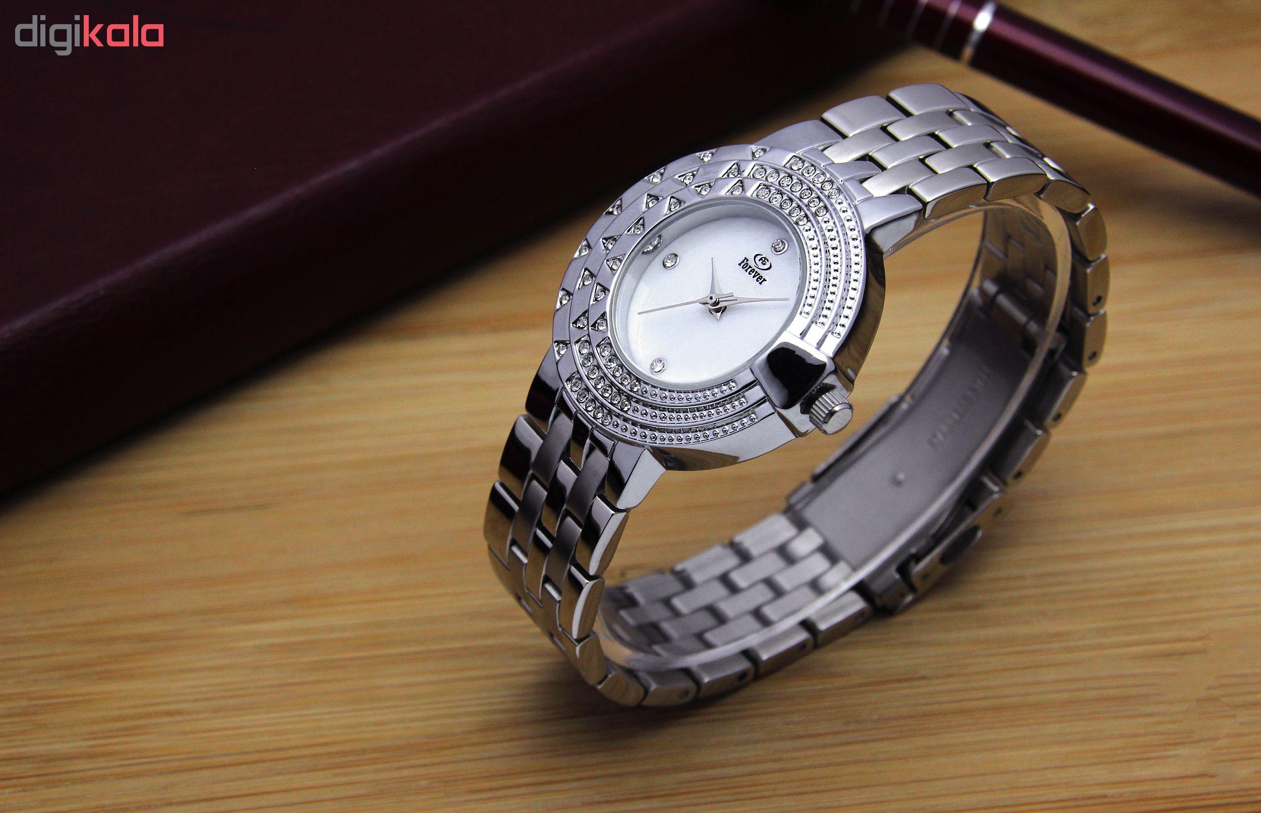 خرید ساعت مچی عقربه ای زنانه فوراور مدل SN-S12696S-10