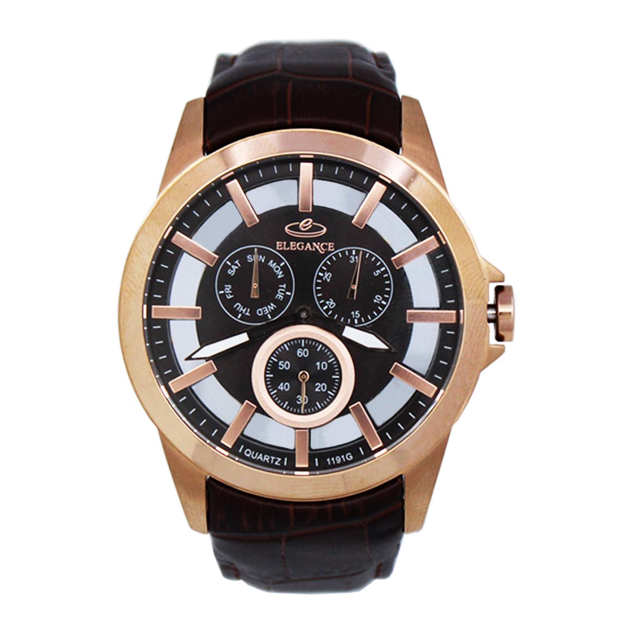 ساعت مچی عقربه ای مردانه الگانس مدل DGMK-0132