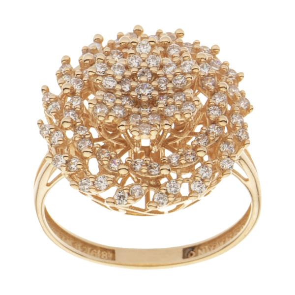 انگشتر طلا 18 عیار زنانه مایا ماهک مدل MR0540