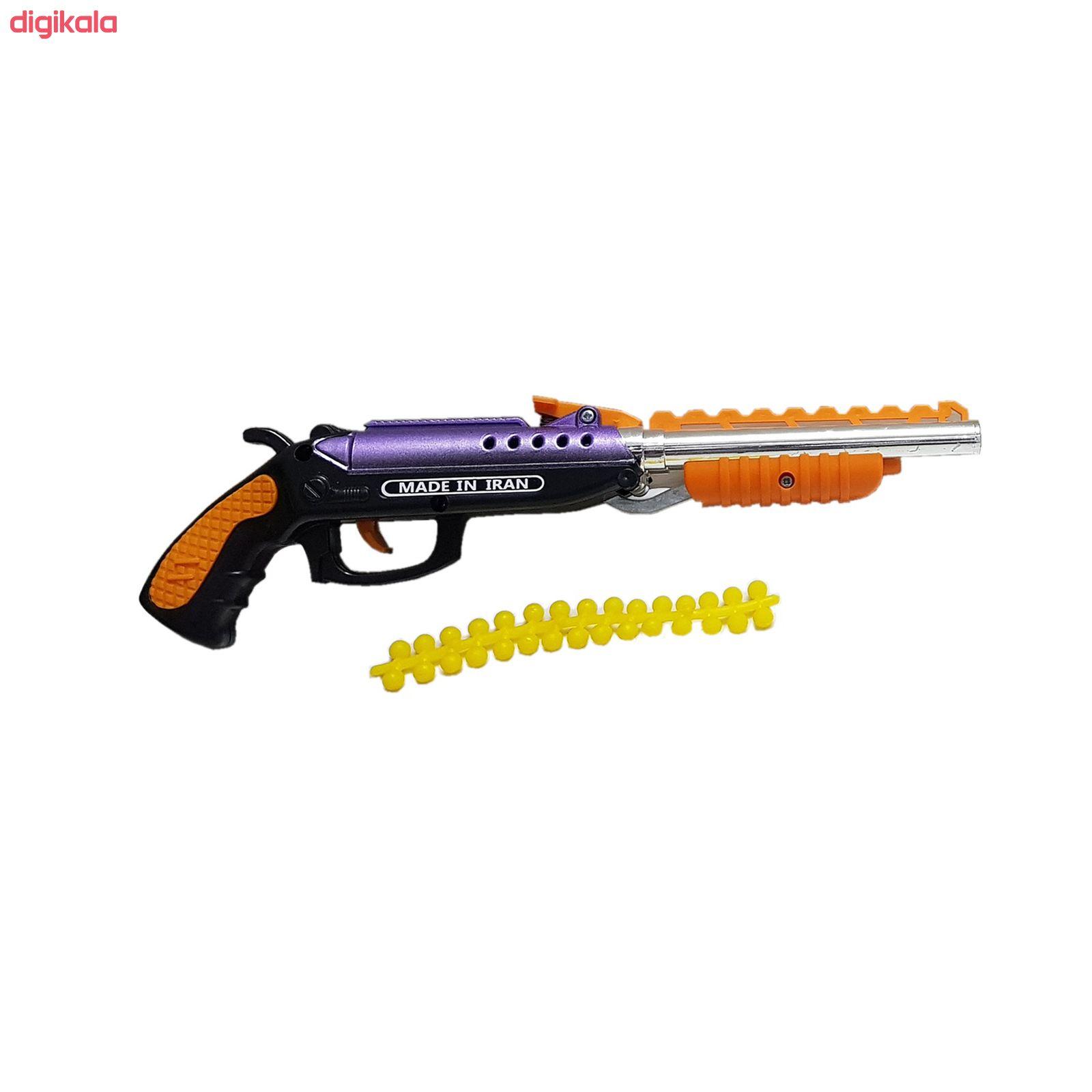 تفنگ بازی مدل وینچستر دولول main 1 1