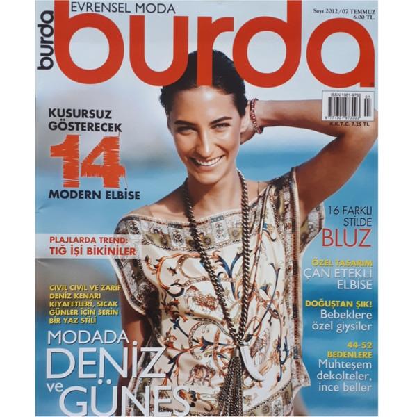 مجله burda جولاي 2012