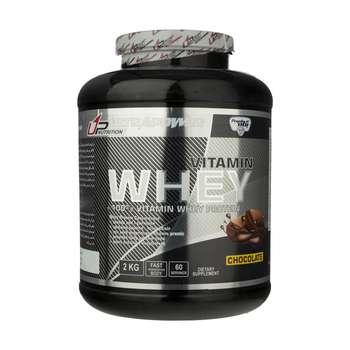 پودر وی پروتئین و پرمیکس ویتامین با طعم شکلاتی پگاه - 2 کیلوگرم