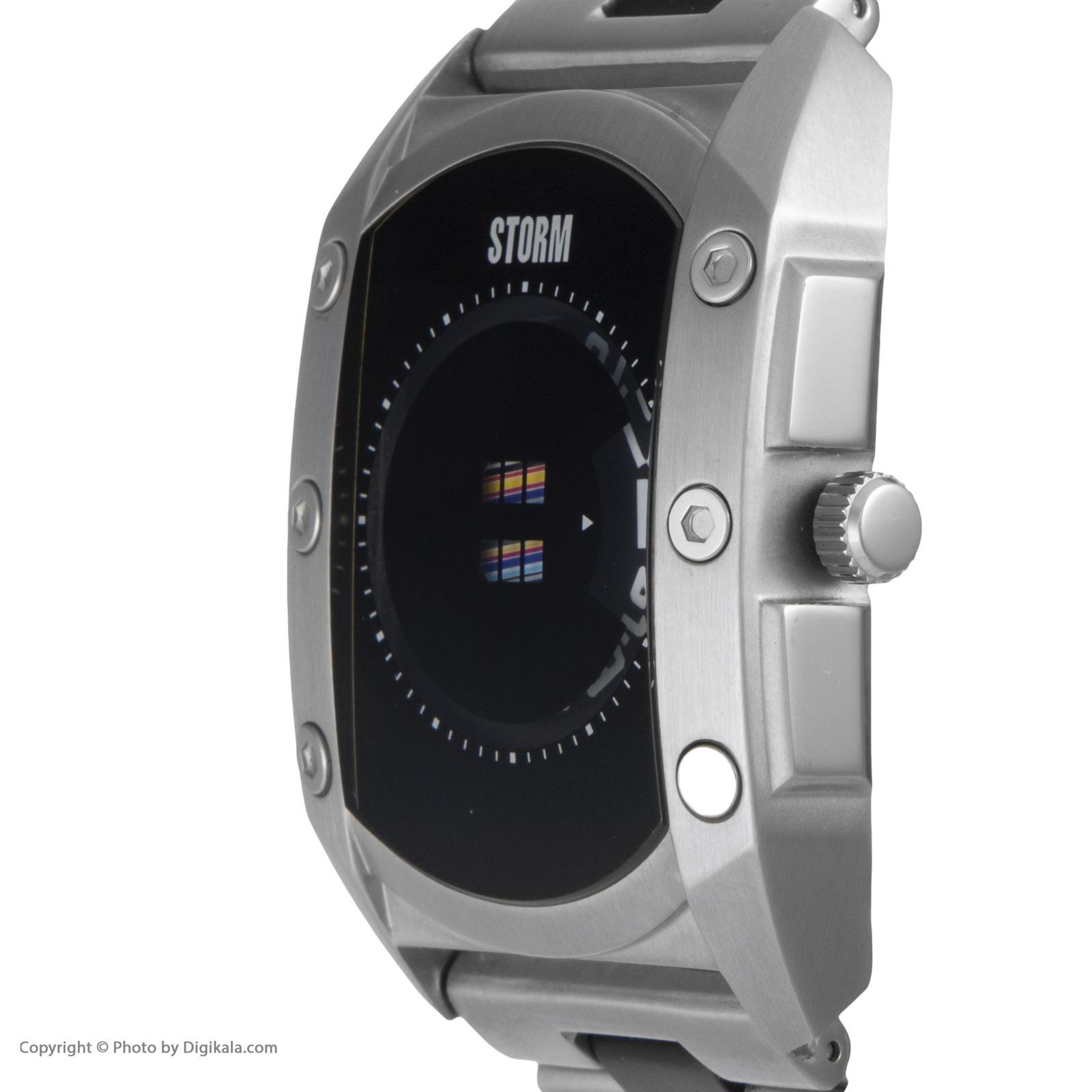 ساعت مچی عقربه ای مردانه استورم مدل ST 47138-BK -  - 4