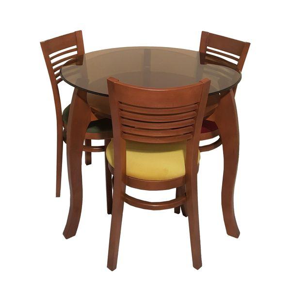 میز و صندلی ناهارخوری 3نفره مدل O308.3