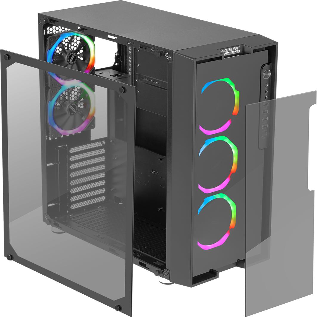 خرید کیس کامپیوتر گرین مدل Z6 RGB ARTEMIS - فروشگاه اینترنتی 98