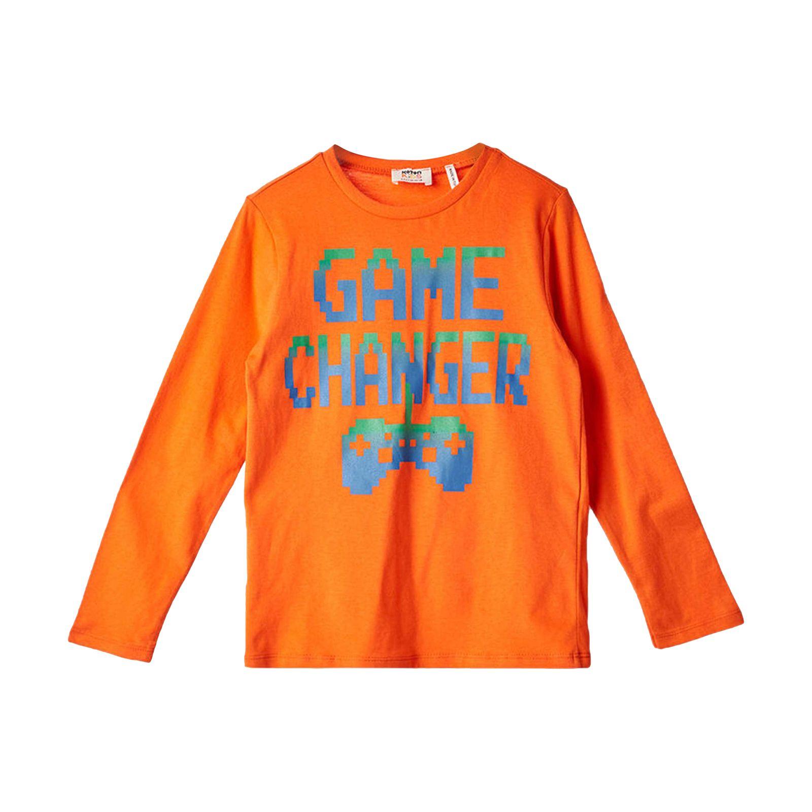 تی شرت پسرانه کوتون مدل 1kkb16802ok-23 -  - 2