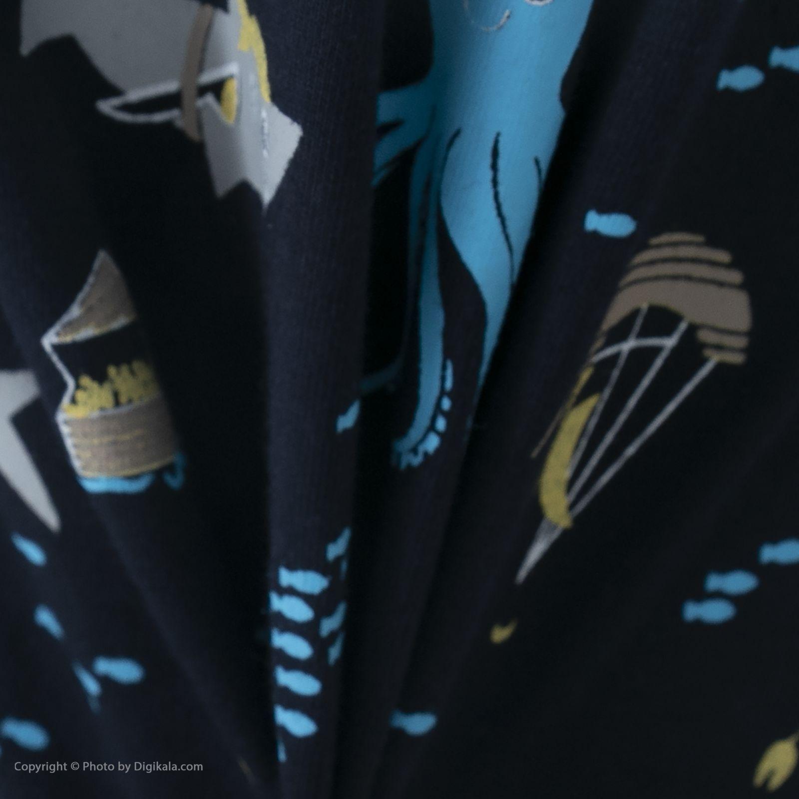 ست تی شرت و شلوارک راحتی مردانه مادر مدل 2041107-52 -  - 11