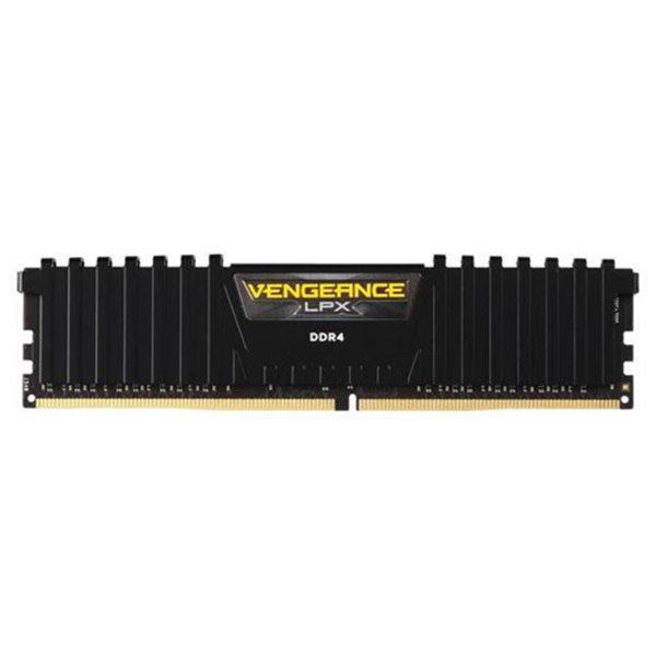رم دسکتاپ DDR4 تک کاناله2400 مگاهرتز CL16 کورسیر مدل VENGEANCE LPX ظرفیت 16 گیگابایت