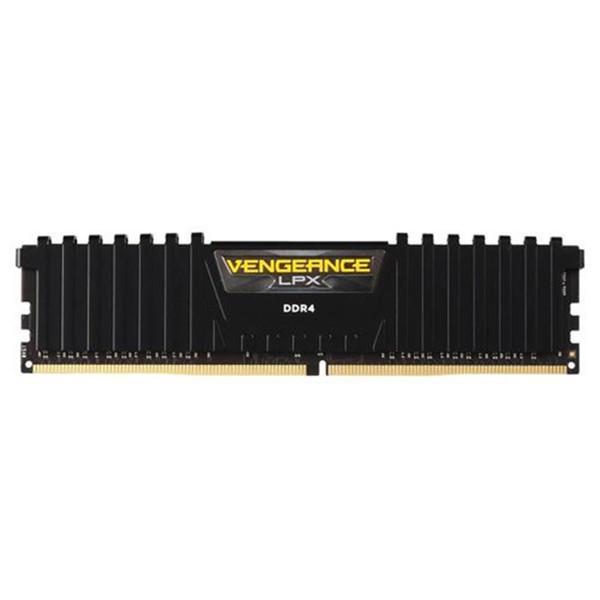 رم دسکتاپ DDR4 تک کاناله 3200 مگاهرتز CL16 کورسیر مدل VENGEANCE LPX ظرفیت 8گیگابایت