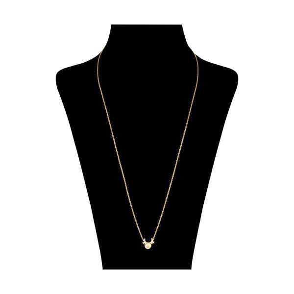 گردنبند طلا 18 عیار زنانه مدیسا مدل N7007