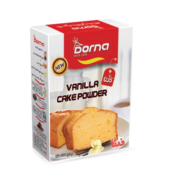 پودر کیک وانیلی درنا بسته 5 عددی