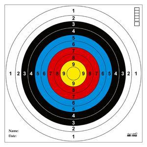 سیبل تفنگ بادی مستر راد مدل کرال کد 1491 بسته 50 عددی