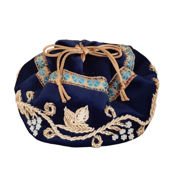 کیف هدیه سرمه دوزی مدل سنتی کد 0039