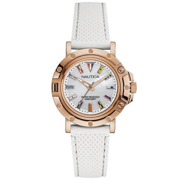 ساعت مچی عقربه ای زنانه ناتیکا مدل NAD14008L