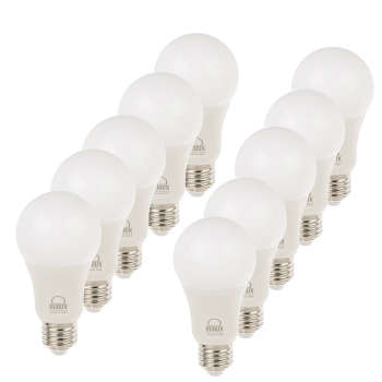 بسته 10 عددی لامپ ال ای دی 10 وات بروکس مدل 5322-A60 پایه E27