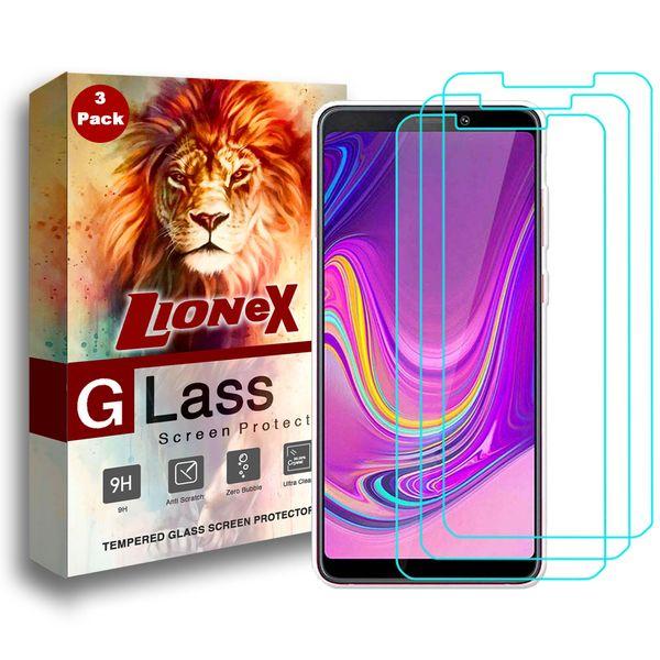 محافظ صفحه نمایش لایونکس مدل UPS مناسب برای گوشی موبایل سامسونگ Galaxy A9 2018 بسته سه عددی