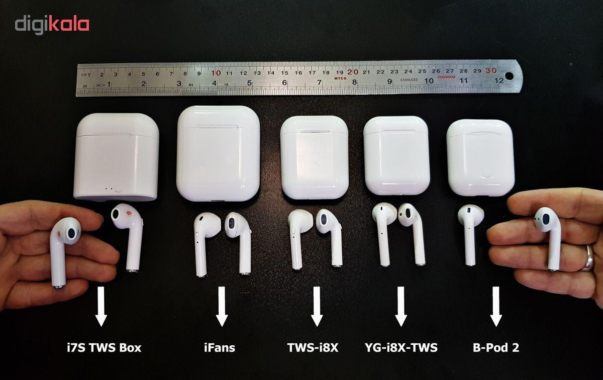 هدفون بی سیم مدل i7S-Turbo White main 1 8