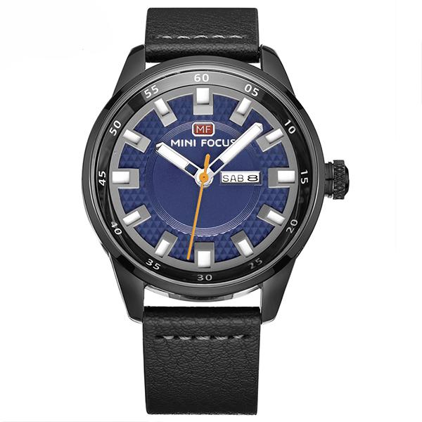 ساعت مچی عقربه ای مردانه مینی فوکوس مدل mf0027g.07