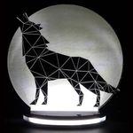 چراغ خواب طرح گرگ و ماه کد 1010