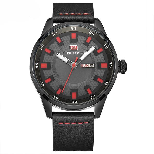 ساعت مچی عقربه ای مردانه مینی فوکوس مدل mf0027g.05